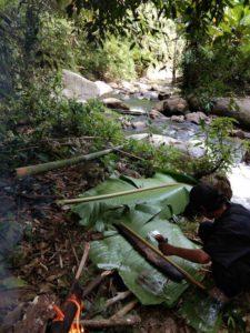 Trek et stage de survie dans la jungle a Chiang Mai