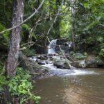 rivière rencontrée pendant le trek